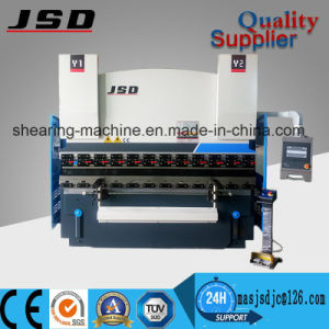 Jsd We67k-100t*3200 CNC Hydraulic Press Brake Machine pictures & photos