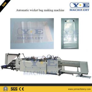 Plastic CPP Wicket Bag Making Machine with Yaskawa Servo Motor pictures & photos