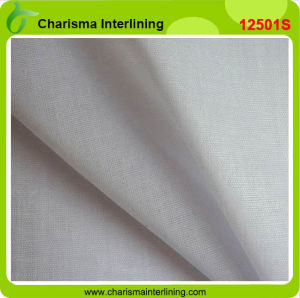 Woven Fusible Shirt Interlining for Shirt Collar and Cuffs pictures & photos