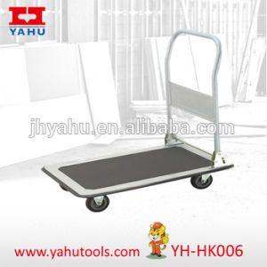 Hand Platform Foldable Folding Heavy Duty Trolley Truck 250kg Handtruck Cart New (YH-HK006) pictures & photos
