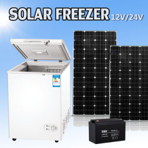 12V/24V DC Compressor 108L Solar Refrigerator Freezer Fridge pictures & photos