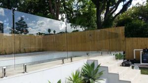 Crystal Toughened Glass for Swimming Pool Fence pictures & photos
