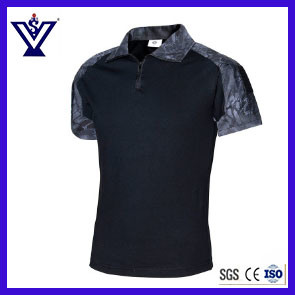 High Quality New Camouflage T-Shirt Uniform (SYSG-2010) pictures & photos