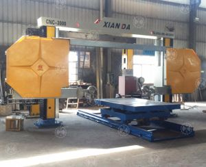 CNC - 3000 Diamond Wire Saw Stone Profiling Cutting Machine pictures & photos