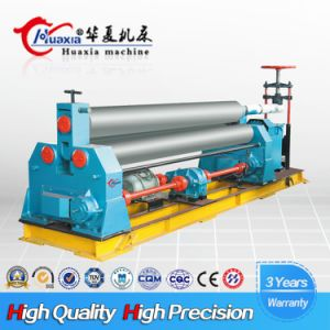 W11 6*3200 Mechanical Plate Rolling Machine, Manual Metal Roller Bending Machine pictures & photos