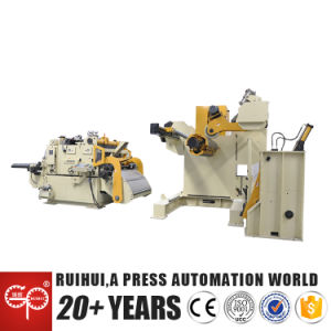 Uncoiler Straightener Nc Servo Roll Super Thick Coil Feeder, 3 in 1 (MAC4-1600H) pictures & photos