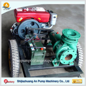 Movable Diesel Engine Irrigation Water Pump pictures & photos
