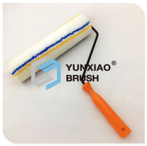 Blue&Yellow Stripe Black Plated Paint Roller pictures & photos