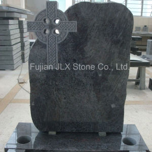 Bahama Blue Granite Celtic Cross Headstone pictures & photos