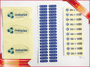 Printed Adhesive Barcode Stickers for Shoes and Garment pictures & photos