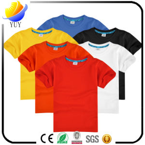 Children Can Be Customized Logo Color T-Shirt pictures & photos