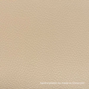 Beige PVC Leather for Car Seat Cover, Sofa, Chair pictures & photos