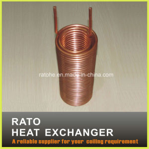 Coil Copper Tube Heat Exchanger for Water Drinking Machine