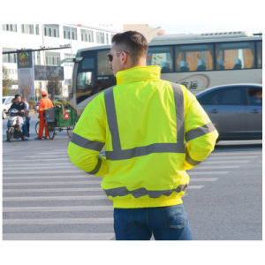 High Visibility Workwear Reflective Safety Jacket pictures & photos