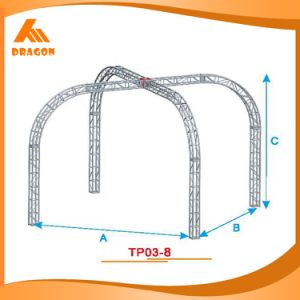Speker Truss, Roof Truss Prices, Stage Truss System for Sale (TP03-8) pictures & photos