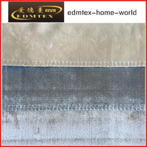100% Polyester Velvet Fabric for Sofa/Curtain EDM-HS519 pictures & photos