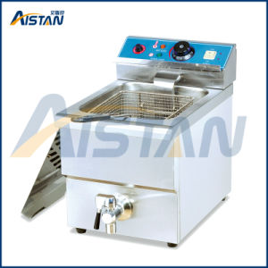 Df10L Counter Top Electric Chicken Chips Fryer of Catering Equipment pictures & photos