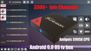 Popular Streaming IPTV Apk Europe IPTV Arabic IPTV Include Sky It Tr UK De 3300+ Channels Support Android Enigma2 Mag 250 254 pictures & photos