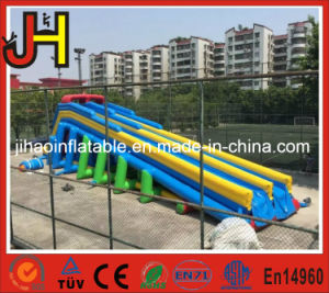 Colorful Double Lane Giant Inflatable Dry Slide for Amusement pictures & photos