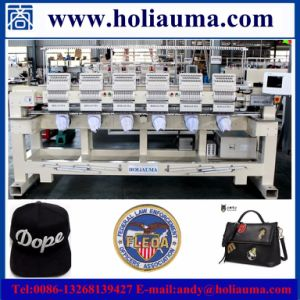 Cheap Industrial Cord 6 Head Embroidery Machine Computerized Cap/ T-Shirt/Garments Embroidery Machine Sequin Embroidery Device Manual Operation pictures & photos