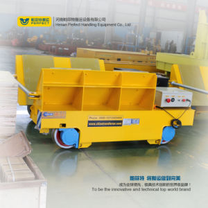 Bxc Series Steel Pipe Handling Motorized Transfer Cart on Rail pictures & photos