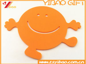 Colorful Fashion Silicone Cup Mat Customed Logo (YB-HR-85) pictures & photos