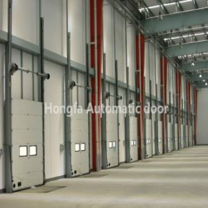Automatic Industrial Overhead Warehouse Sectional Door (HF-8) pictures & photos