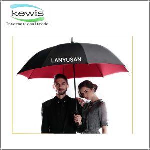 Black Plain Business Golf Umbrella for Outdoor pictures & photos