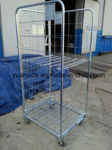 2017 Europe Foldable Mesh Roll Pallet Roll Container pictures & photos