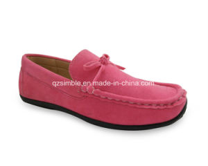 Convenient Loafers Shoes with Simple Bowknot pictures & photos