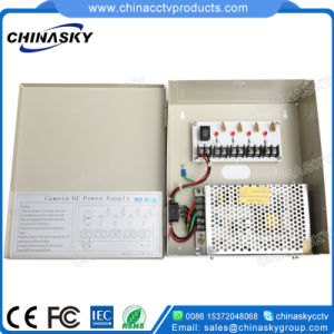 12VDC 5AMP CCTV Power Supply Box for 4 Cameras (12VDC5A4P) pictures & photos