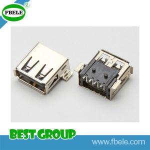 8 Pin Mini USB Connector Mini USB Dual USB Connector pictures & photos