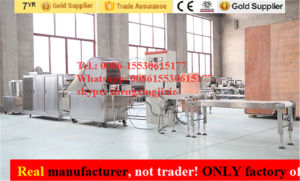 Automatic Spring Roll Sheets Machine/Dough Spring Roll Pastry Machine /Syria Pastry/Samosa Pastry Machine/Injera Machine/Crepe Machine (real factory not trader) pictures & photos