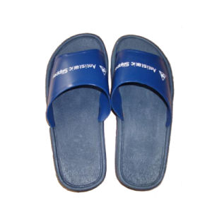 ESD Cleanroom Antistatic PVC Slippers for Industrial Factory pictures & photos