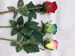 Artificial Real Touch Rose Flowers Decoration Fresh Rose Artificial Flowers Latex Roses for Wedding Bouquet Decoration pictures & photos