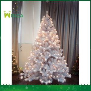 Flocked PVC Pine Tree