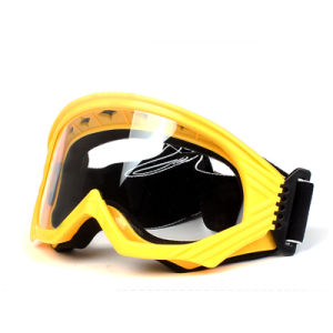 Yellow Motocross Accessories Super Toughness Ski Goggles (AG003) pictures & photos