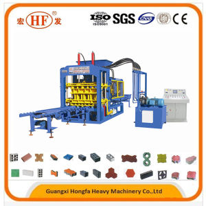 Qt6-15b Automatic Cement Brick Making Machine pictures & photos