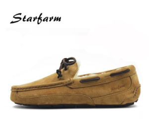 Sheep Skin Shearling Driving Shoes