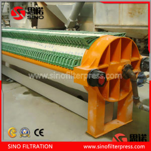 Solid and Liquid Separator Automatic Round Plate Filter Press pictures & photos