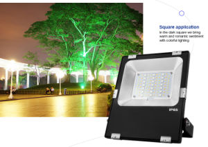 New Design Smart 30W RGB+CCT LED Floodlight (FUTT03) pictures & photos