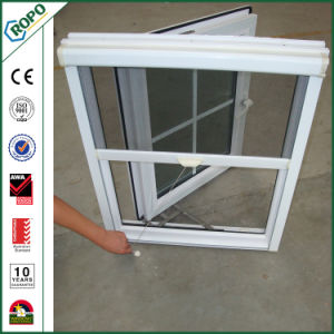 PVC and Aluminum Profile Fly Screen Casement Window Grid Design pictures & photos