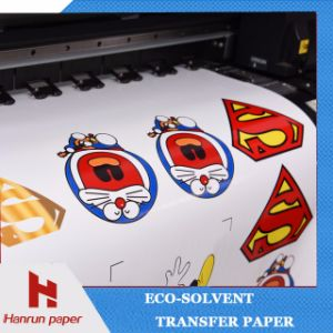 Printable Eco Solvent Heat Transfer Film Vinyl for Textile Printing