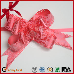 Wedding Christmas Outdoor Party Easy Operate Butterfly Pull Bow pictures & photos