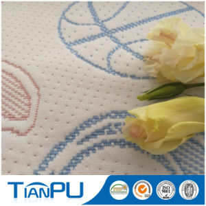 Customized 100% Polyester Knitted Mattress Ticking Fabric pictures & photos