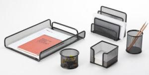 Desk Accessories Set/ Metal Mesh Stationery Office Set/ Office Desk Accessories pictures & photos