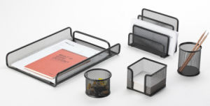 Metal Mesh Stationery Office Set/ Office Desk Accessories pictures & photos