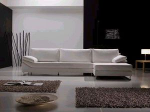 Best Selling Leisure Leather Sectional Sofa (L shape) pictures & photos