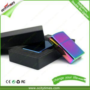 Custom Smoking Lighter USB Electronic Lighter Metal Arc Lighter pictures & photos