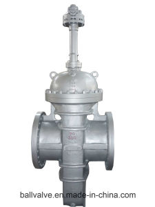 Manual/ Pneumatic/Electric Stainless Steel Slab Thru-Conduit Gate Valve pictures & photos
